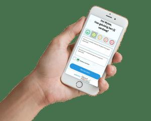 werkgeluk geluksmeter mobile devices