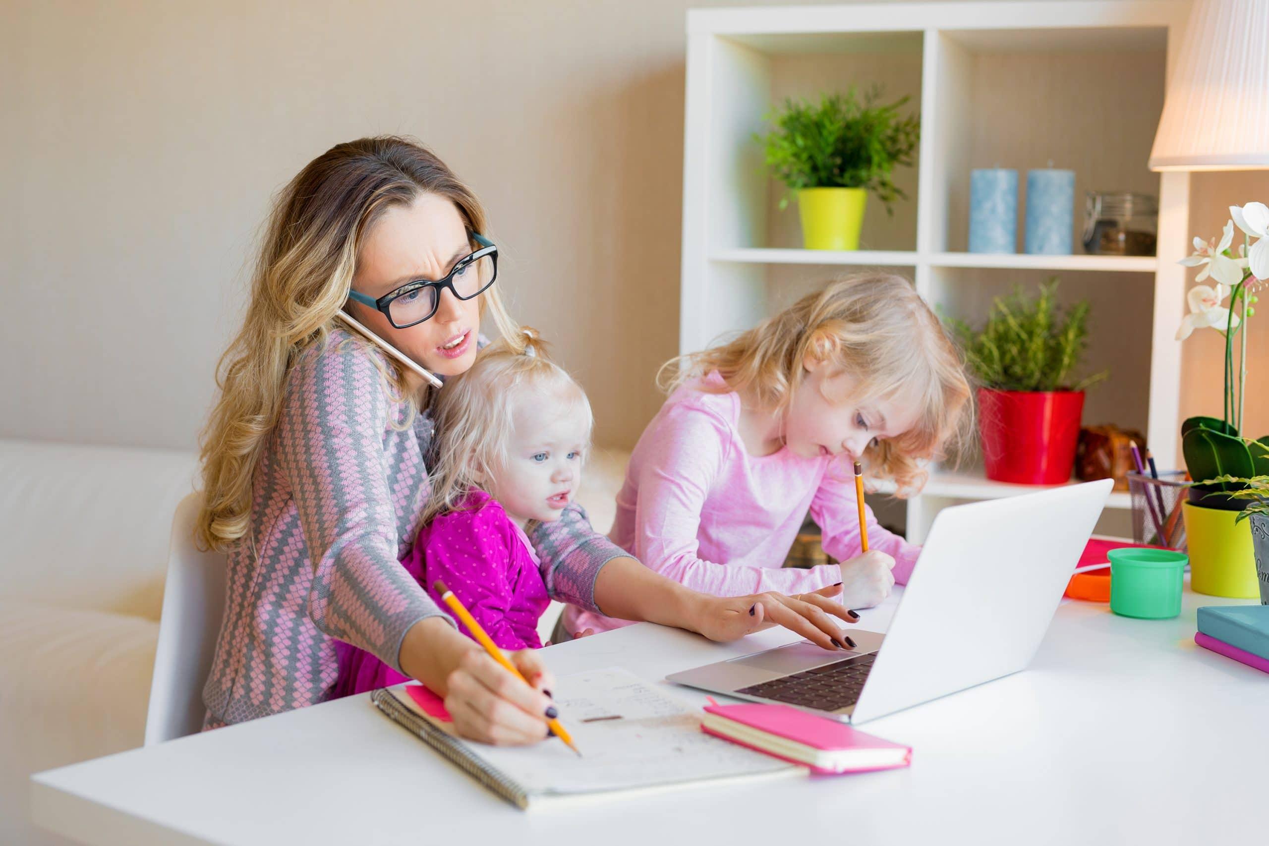 Thuiswerken geluksmeter werkstress Moodindicator