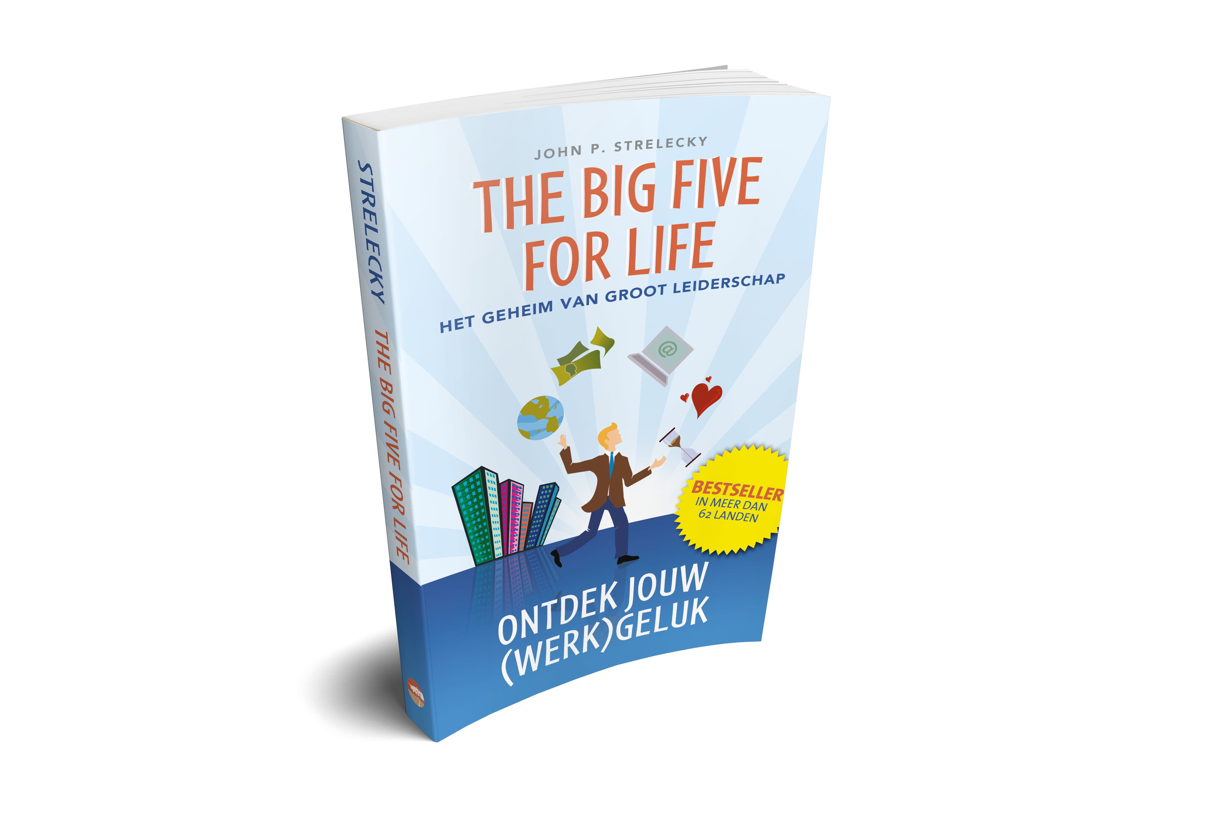 Big Five for Life ontdek jouw werkgeluk persoonlijk leiderschap boek bestseller